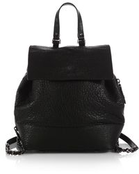 Alice + Olivia - Bubble-Lambskin Backpack - Lyst