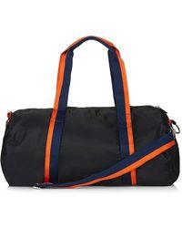 TOPSHOP - Nylon Barrel Luggage Bag - Lyst
