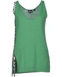 Just Cavalli Green Sweater - Lyst