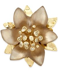 Alexis Bittar Vert Deau Small Lucite Flower Pin - Lyst
