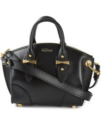 Alexander McQueen Legend Mini Leather Cross-Body Bag - Lyst