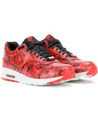 Nike Air Max 1 Ultra Leather Sneakers - Lyst