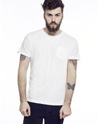 Bellfield Basic Slub Pocket T-Shirt - Lyst