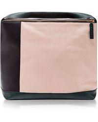 Marni Colorblock Leather Shoulder Bag - Lyst