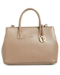 Furla 'Small Linda' Leather Tote - Lyst