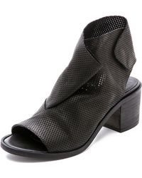 Ld Tuttle The Bow Open-Toe Ankle Boots - Lyst