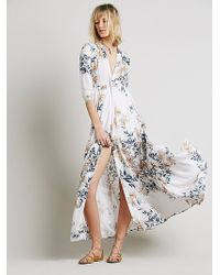Free People Womens After The Storm Maxi - Lyst