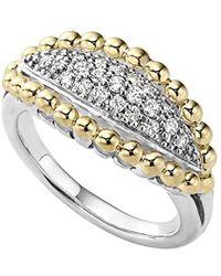 Lagos | 'caviar' Diamond Marquise Ring | Lyst