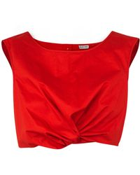 Rachel Comey Argento Top red - Lyst