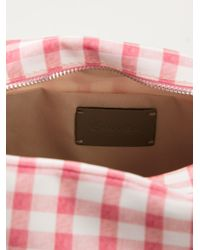 Carven - Vichy Check Makeup Bag - Lyst