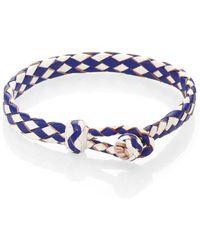 Chamula Woven Leather Bracelet - Lyst