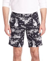 Polo Ralph Lauren Luau-print Shorts - Multicolor