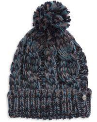 Modena | Pom-pom Knit Hat | Lyst