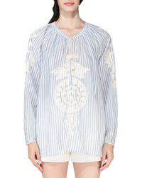 Antik Batik Shirt / Blouse - Lizi1Blo white - Lyst