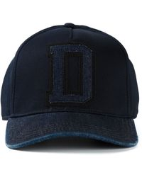 Diesel 'Caashize' Cap blue - Lyst