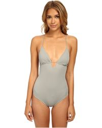 Eberjey So Solid Madison One-Piece - Lyst