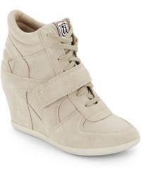 Ash Bowie Wedge Sneakers - Lyst