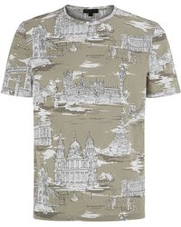 Burberry Prorsum London Landmarks Tshirt - Lyst