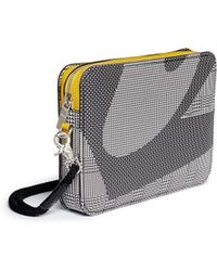 Alexander McQueen Rope Wristlet Contrast Print Leather Pouch - Lyst