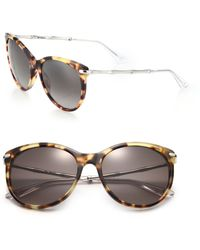 Gucci | Bamboo 56mm Oval Frame | Lyst