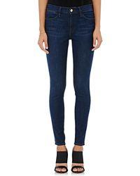 Frame Denim | Le High Skinny High-waist Jeans | Lyst