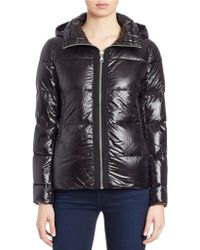 Vince Camuto - Short Hooded Down Jacket - Lyst
