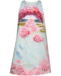 Manish Arora Embroidered Short Dress multicolor - Lyst