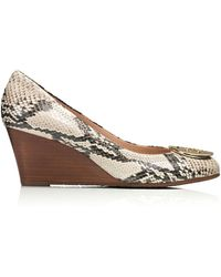 Tory Burch Animal Sally Wedge - Lyst