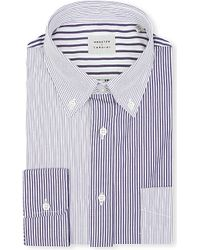 Lardini Contrast-Stripe Shirt - For Men - Lyst