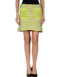 Lil Pour L'autre Mini Skirt - Lyst