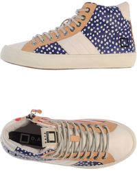 Date High-Tops & Trainers gray - Lyst