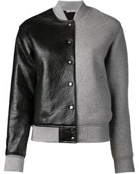 T By Alexander Wang Bomber Jacket - Lyst