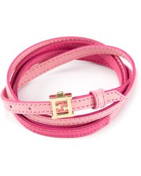 Fendi 'Crayons' Bracelet - Pink