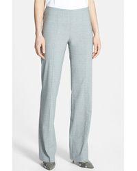 Hugo Boss 'Tilana' Stretch Wool Trousers - Lyst
