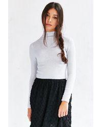 Kimchi Blue - Cozy Mock Neck Sweater - Lyst