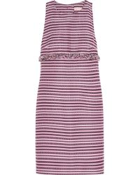 Matthew Williamson Jacquard Mini Dress - Lyst