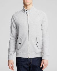 Bloomingdale's French Terry Knitted Jacket - Grey