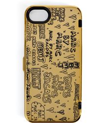 Marc By Marc Jacobs Scribble Mirror Iphone Case - Lyst