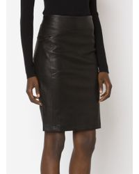 Getting Back to Square One - Knee-length Pencil Skirt - Lyst