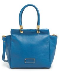 Marc By Marc Jacobs 'Too Hot To Handle - Bentley' Leather Tote - Lyst