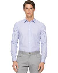 Calvin Klein Basic Fashion Shirt purple - Lyst