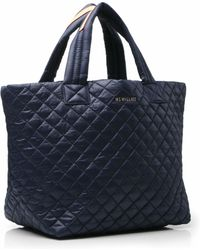 MZ Wallace Dawn Oxford Small Metro Tote blue - Lyst