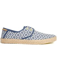 Ted Baker Blue Drill Espadrilles - Lyst