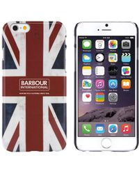Barbour - International Hard Shell Union Jack Case For Iphone 6 - Lyst