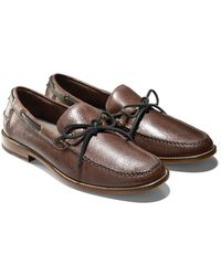 Cole Haan & Todd Snyder Willet Camp Moc In Brown - Lyst