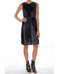 Theory Hernik Sonoran Dress black - Lyst