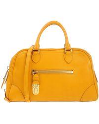 Marc Jacobs Orange Handbag - Lyst