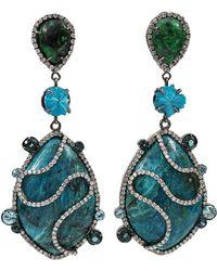 Colette Opal Drop Earrings - Lyst