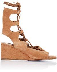 Chloé Crosta Castoro Sandals - Brown