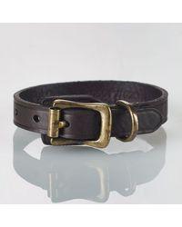 Polo Ralph Lauren Crest Leather Wrist Strap - Lyst